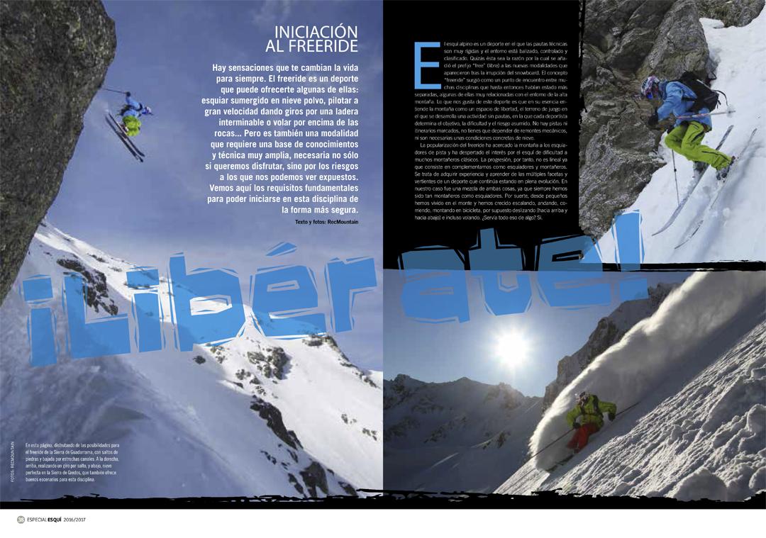 2b2b5dadef3 Diciembre 2017 – REVISTA: Colaboración fotográfica en Especial esquí de montaña  Desnivel 2017/18